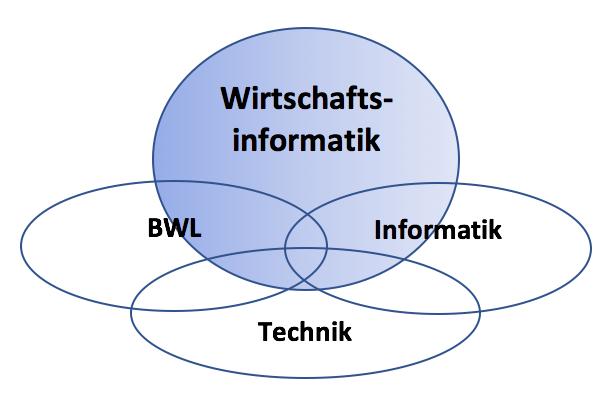 Grafik zum Studium der Wirtschaftsinformatik