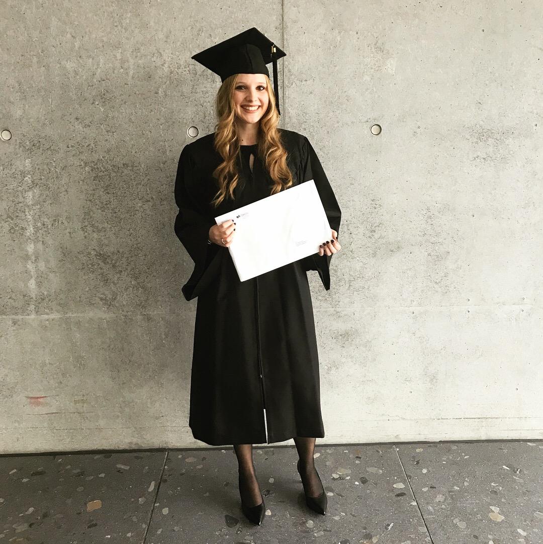 Lea Hildenbrand Studium Wirtschaftsinformatik