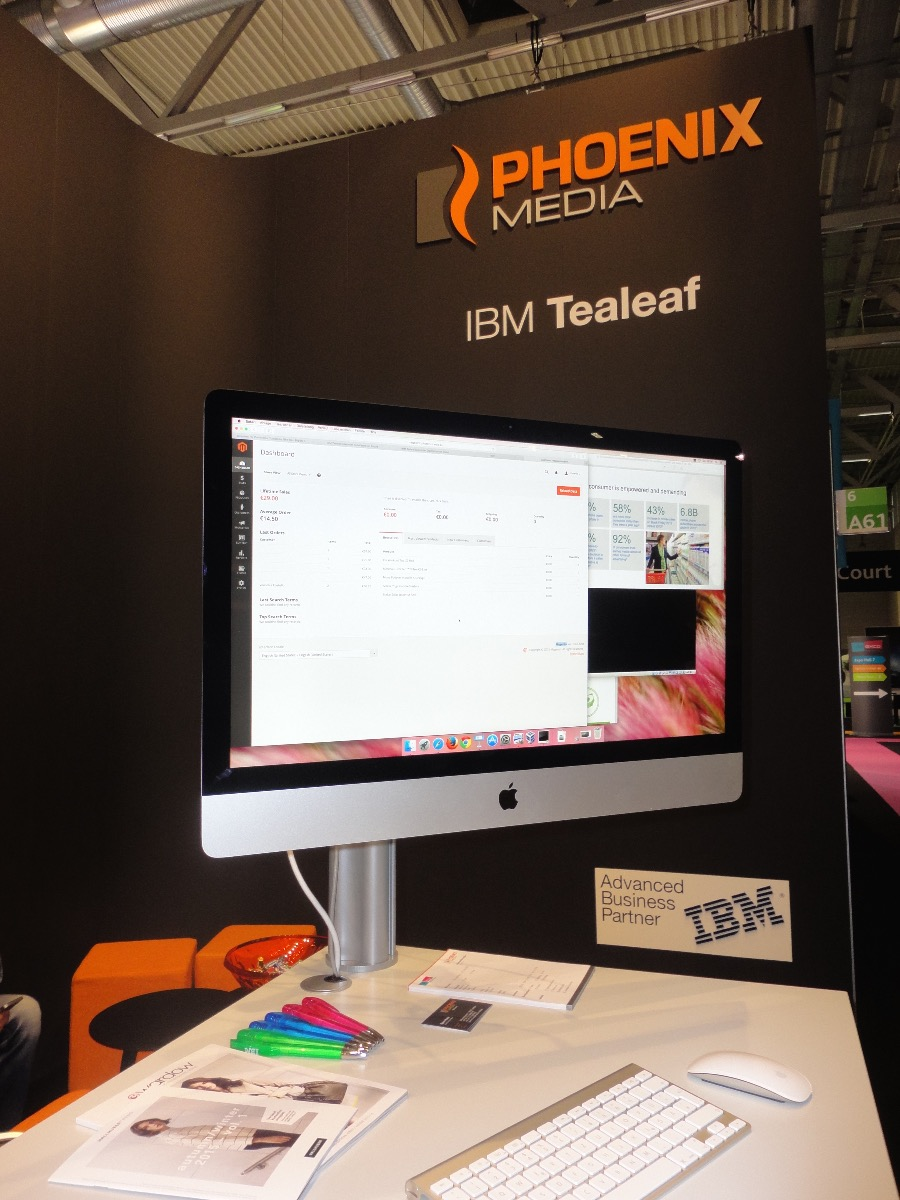 IBM Tealeaf PHOENIX MEDIA dmexco 2015